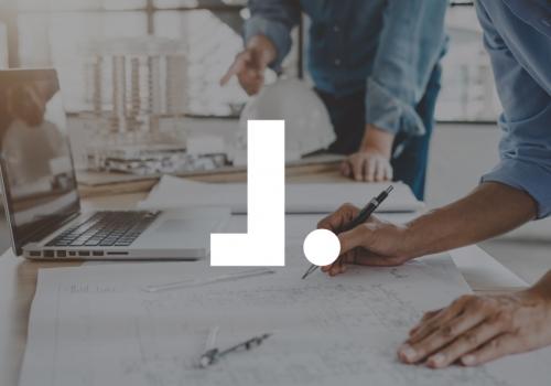 Diseño logo arquitectura técnica