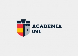 Diseño de logotipo para academia de cuerpos de seguridad