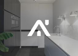 Diseño logo Ventanas, Puertas y Cocinas
