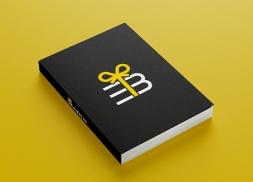 Diseño logotipo pack de libros y cursos