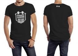 Diseño de camisetas deportivas para gimnasio