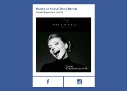 Campaña facebook para clínica dental
