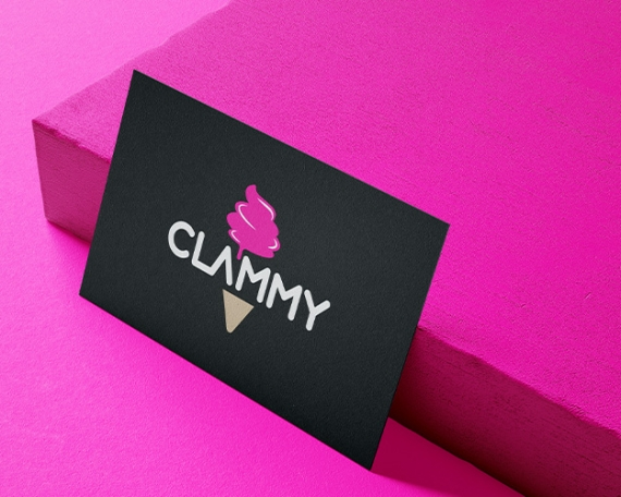 Logotipo Clammy