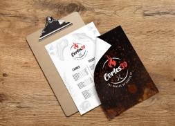 Diseño logotipo para restaurante asador
