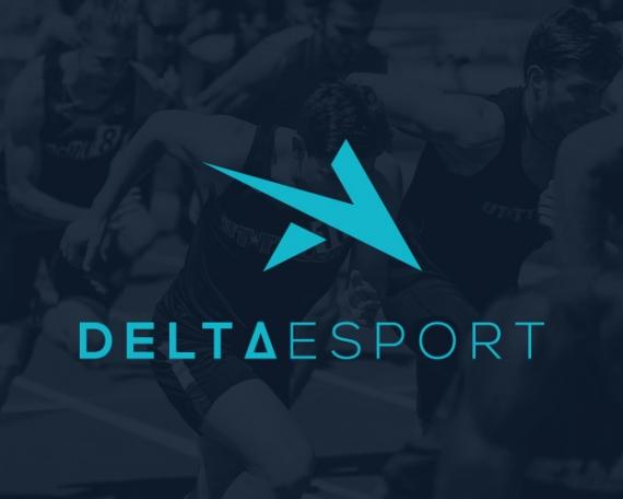 Diseño de logotipo para ropa deportiva delta