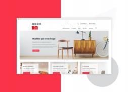 Diseño tienda online muebles