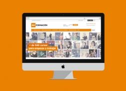 Diseño y desarrollo de web para cursos de formación online