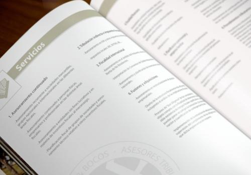 Diseño de dossier para asesores tributarios