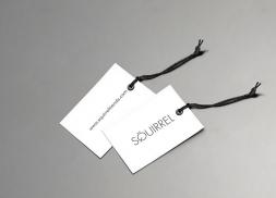Diseño de etiquetas para tienda de moda
