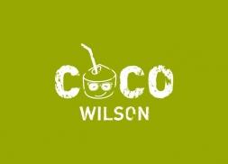 Diseño logotipo empresa bebida de coco