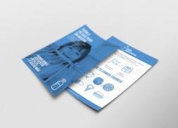 Diseño de flyer para repositorio de restaurantes