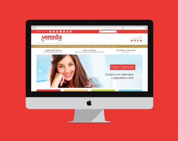 Diseño tienda online cosmética natural