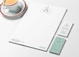 Diseño de identidad corporativa para pediatra neumólogo