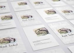 Diseño de tarjetas para cineasta y fotógrafo