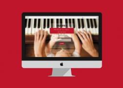 Diseño de interfaz de usuario para web de hilo musical
