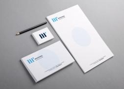 Diseño de identidad corporativa para asesoría fiscal y contable