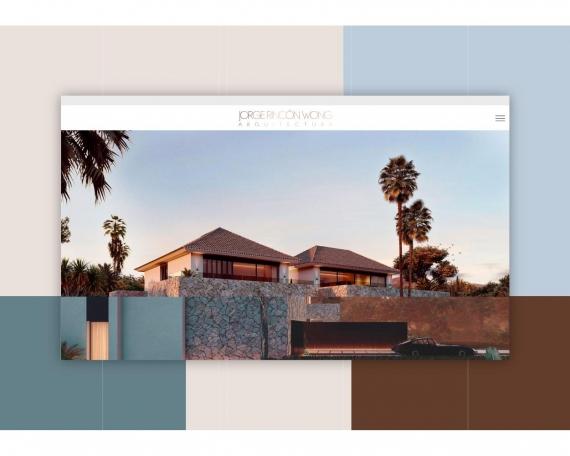 Diseño web arquitecto vivienda de lujo