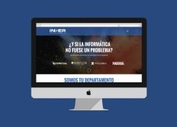 Diseño web WordPress informática