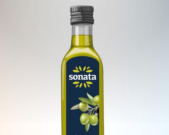 Diseño Packaging y logo para marca aceite de oliva