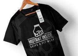Diseño de etiqueta para marca de ropa para entrenar