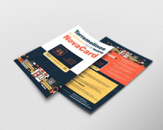 Diseño de diferentes elementos de comunicación para tarjeta de descuento