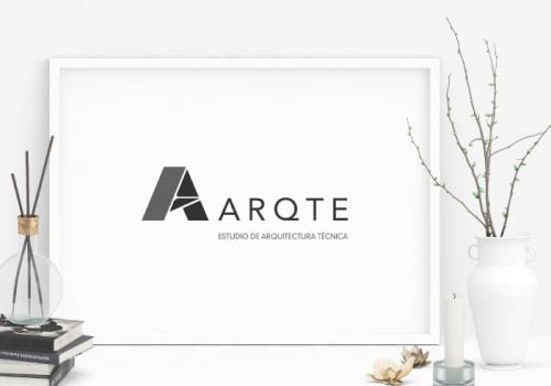 diseño logo de estudio de arquitectura técnica