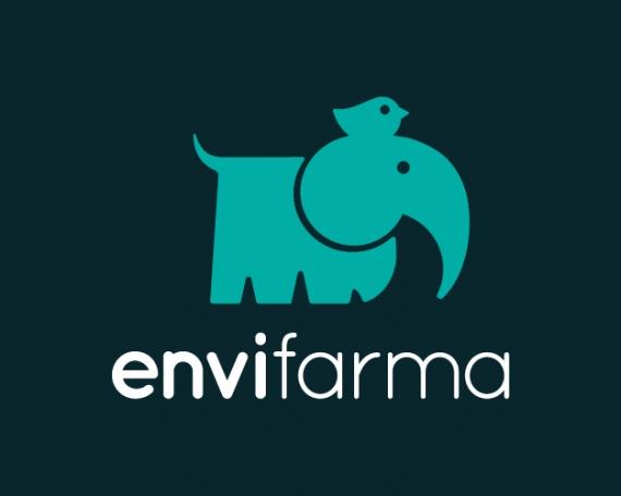Diseño logotipo elefante farmacia