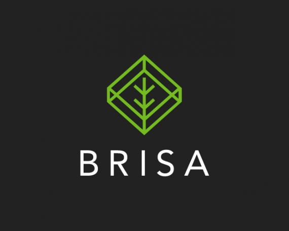 Diseño de logotipo para estudio de arquitectura sostenible