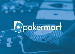 Diseño logotipo para una tienda online de accesorios de poker