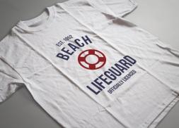 Diseño de logotipo para tienda de ropa de guardacostas