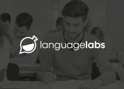 Diseño de logotipo para enseñanza de idiomas