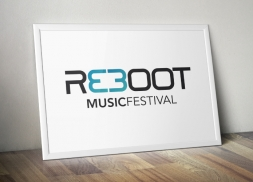 Diseño logotipo festival de música electrónica