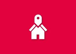 Diseño de logotipo para buscador de inmuebles