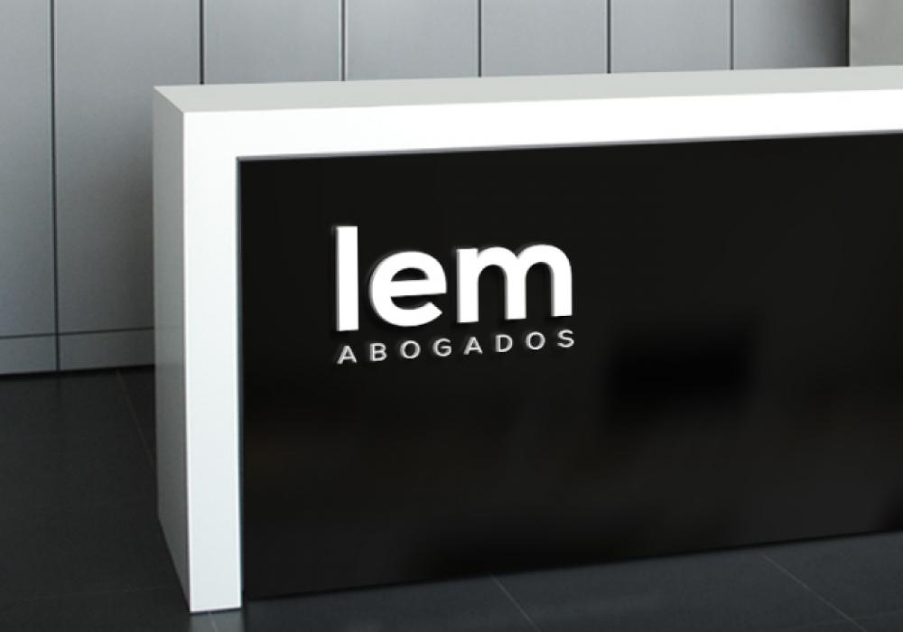 Diseño de logotipo abogados Málaga