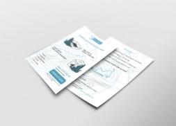 Diseño de flyer para empresa de venta de productos para mascotas
