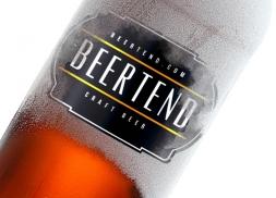 Diseño de logotipo para marca de cerveza