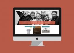 Diseño web para el grupo de música Love of Lesbian