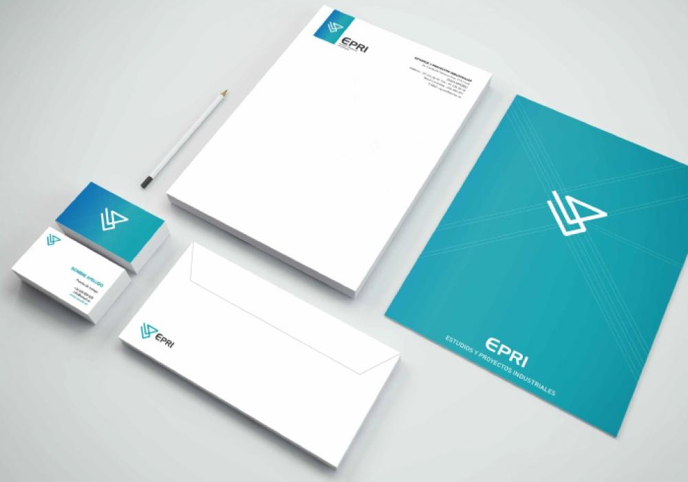 Diseño papelería EMPRESA PROYECTOS INDUSTRIALES
