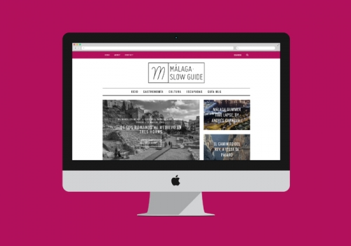 Diseño y programación blog guía cultural