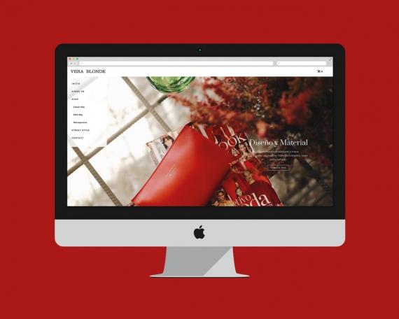 Diseño tienda online bolsos