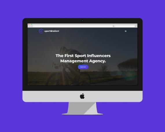 Desarrollo web para agencia especializada en influencers del deporte