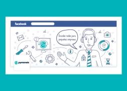 Diseño redes sociales empresa de informática