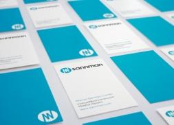 Diseño tarjetas personales consultor de negocios