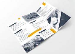Diseño de logotipo y carta para restaurante gourmet