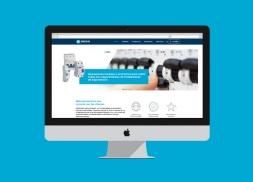 Diseño web catálogo empresa productos eléctricos