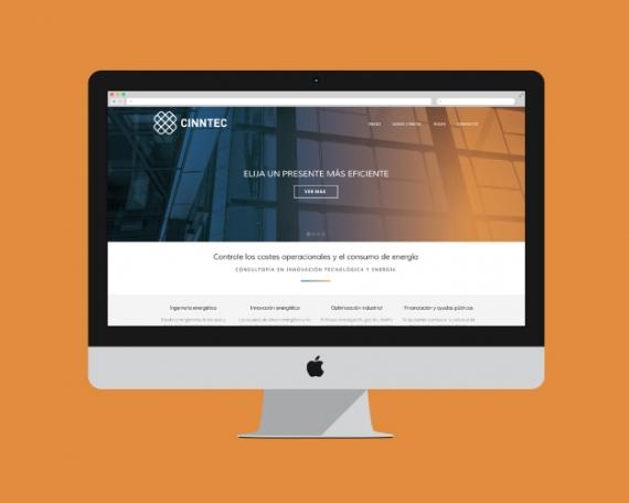 Diseño web consultoría innovación energética