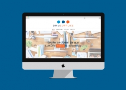 Diseño web distribuidora de material de oficina