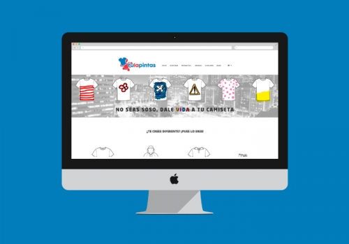 Desarrollo tienda online camisetas personalizadas