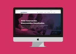 Diseño web para empresa consultoría tecnológica