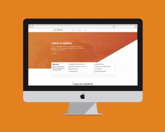 Diseño web empresa consultoría tecnológica